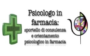 """Prende vita il progetto """"Psicologo in farmacia"""" con consulenze gratuite"""