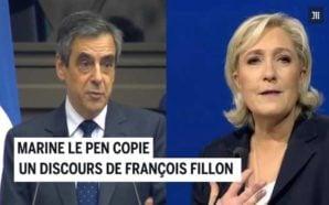 Francia, Marine Le Pen pronuncia le stesse parole di Fillon…