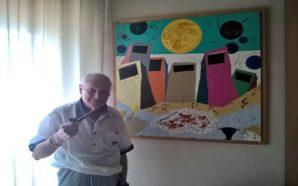 Stelio Di Bello: tra dipinti, Pulcinella e guarattelle, ritratto di…