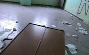 Poggiomarino, Scuola Falcone devastata dai vandali