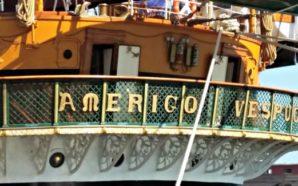 L'Amerigo Vespucci ritorna in patria