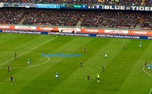 Napoli 3 – Samp 2. Hamsik scrive la storia