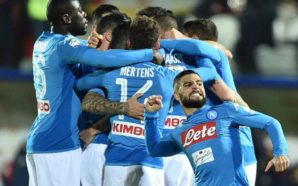 Il Napoli è ufficialmente campione d'inverno