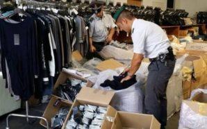 Striano, sequestrate tonnellate di materiale tessile senza autorizzazione