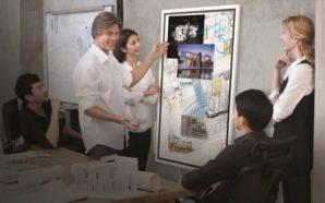 Samsung Flip: gli uffici diranno addio alla preistorica lavagna.