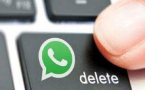 WhatsApp allunga il tempo utile per eliminare un messaggio