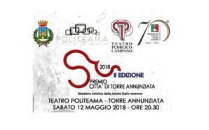 """Serata finale del """"Premio Città di Torre Annunziata"""" in versione…"""