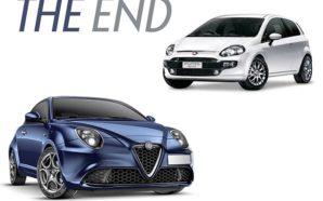 Alfa Romeo MiTo e Fiat Punto: siamo giunti all'epilogo