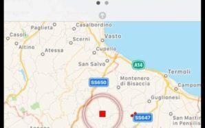 Ultim'ora: scossa di terremoto .