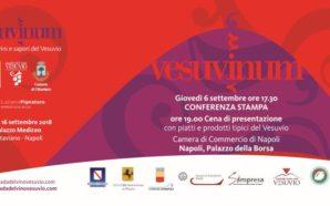"""""""Vesuvinum, i vini e i sapori del Vesuvio"""" 2018 al…"""