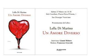 """San Giuseppe V.. Presentazione di """"Un amore diverso"""", libro ispirato…"""