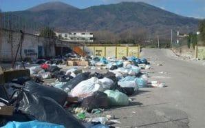 Emergenza rifiuti a San Giuseppe Vesuviano
