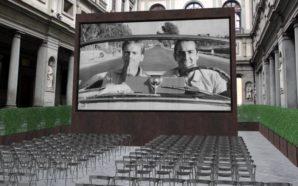 Firenze: cinema all'aperto agli Uffizi