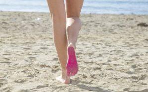 Tutti in spiaggia con un secondo piede