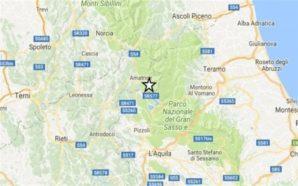 Terremoto: nuova scossa nella notte di 4.2 vicino ad Amatrice.