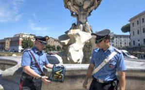 Roma: deturpata la fontana dei Tritoni