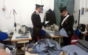 San Giuseppe Ves.: sequestrata palazzina adibita a opificio tessile