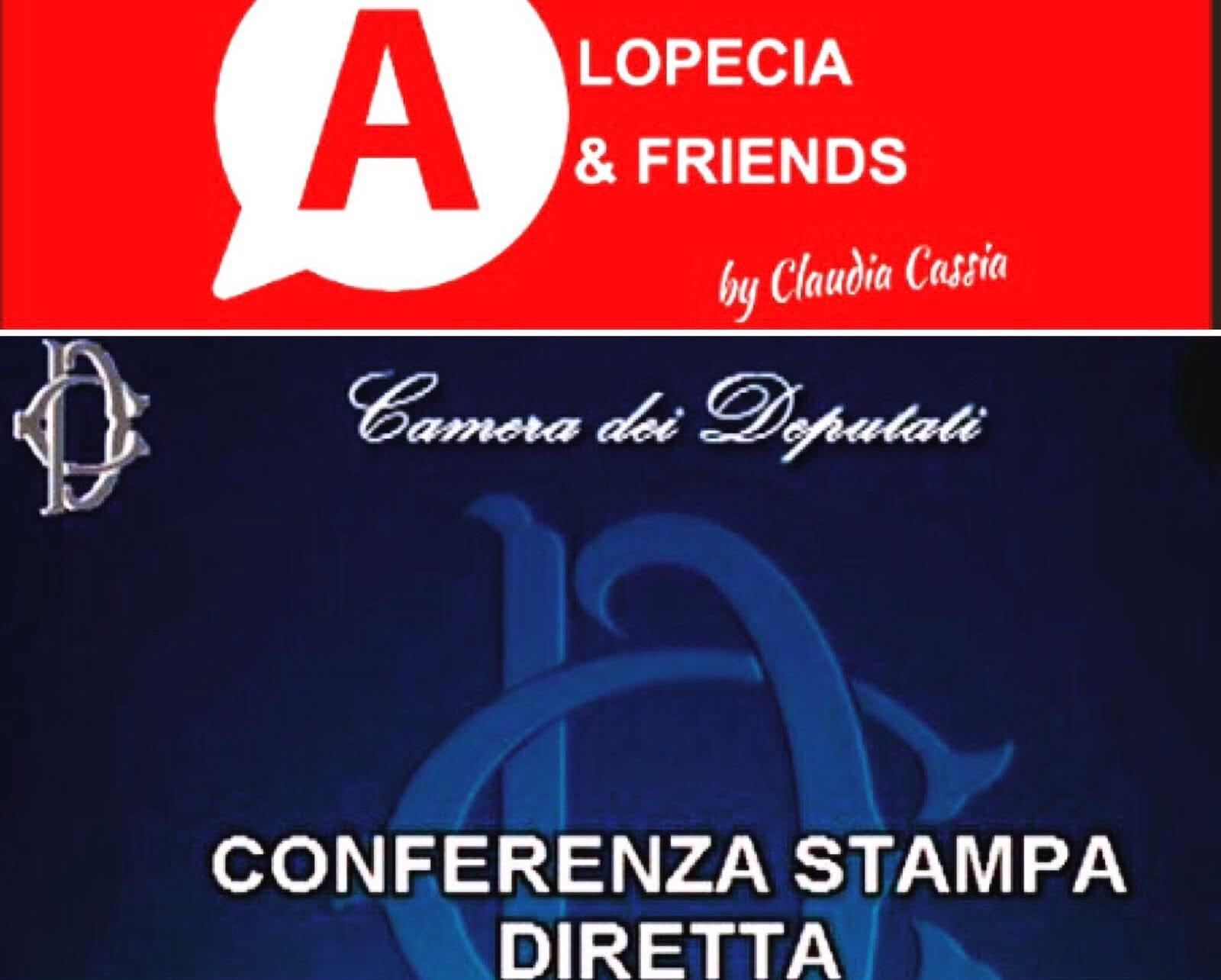 Alopecia non riconosciuta dal ssn conferenza stampa dell for Diretta tv camera deputati