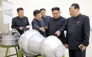 La Corea del Nord sperimenta la bomba H, si teme…