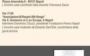 Premio Napoli, il 24 novembre Giuliano Tabacco, finalista sezione poesia,…
