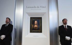 """Asta record: 450 milioni per il """"Salvator Mundi"""" di Leonardo…"""