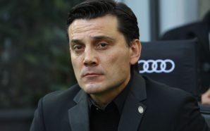 Vincenzo Montella saluta il Milan