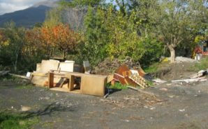 Terzigno: scoperto macro cimitero di rifiuti