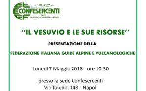 Vesuvio. Nasce la Federazione Italiana Guide Alpine e Vulcanologiche