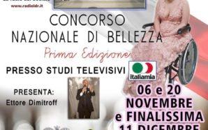 """Miss Wheelchair Italia 2018"""