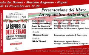 Napoli, lunedì 19 Salvatore Borsellino, fratello del giudice-eroe, presenta il…
