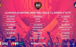 Giffoni Music Concept, dal 19 al 27 luglio il meglio…
