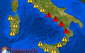Campania, nuovo aumento temperature: avviso della Protezione civile regionale