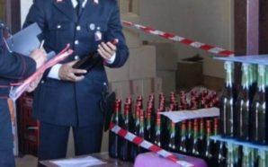 Terzigno, sequestrati 240 litri di vino pericoloso