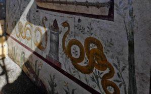 """Pompei, scoperta eccezionale: la """"Casa del Giardino Incantato"""" con un…"""