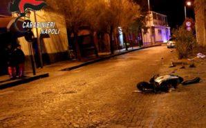 Napoli: gara clandestina tra moto, un morto e due arresti