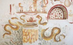 """29 gennaio 2020: rientrano al Matt gli affreschi del """"Larario"""""""