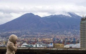 Campania, gelo in arrivo