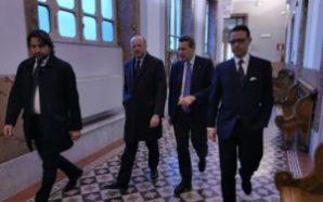 Napoli. Il presidente di Confindustria Boccia in Camera di Commercio