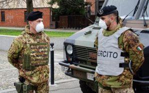L'Esercito a Napoli contro assembramenti ed infrazioni