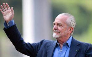 """Napoli, l'augurio di De Laurentiis ai tifosi partenopei:"""" Buona Domenica…"""