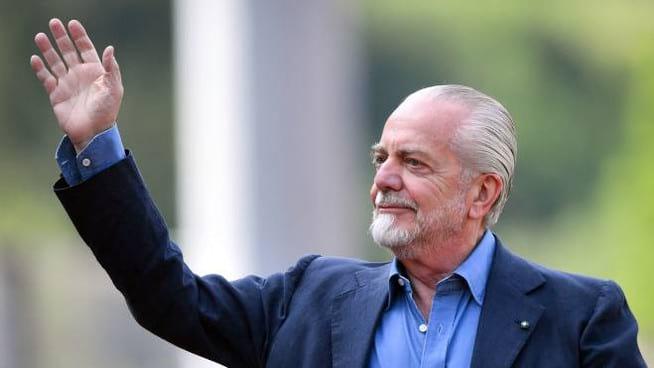 SSC Napoli, arriva il messaggio di speranza di De Laurentiis