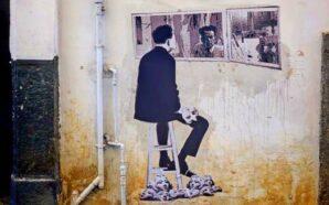 I murales di Nello Petrucci omaggiano Raffaele Viviani